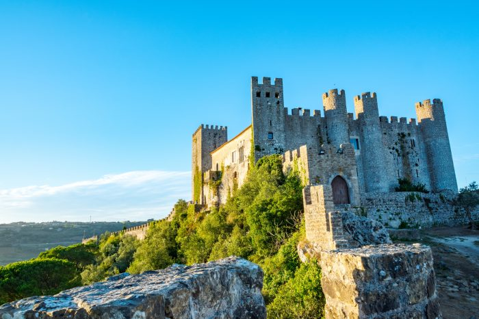 Obidos Medieval Village and Nazare Half-Day Private Tour